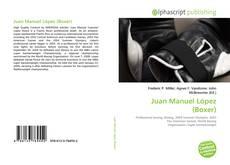 Portada del libro de Juan Manuel López (Boxer)