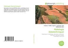 Buchcover von Pédologie (Géotechnique)