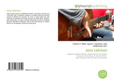 Bookcover of Jens Lekman