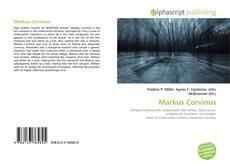 Portada del libro de Markus Corvinus