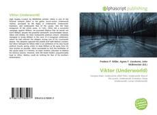 Buchcover von Viktor (Underworld)