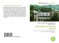 João Maria Ferreira do Amaral kitap kapağı