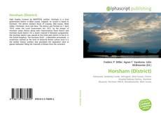 Capa do livro de Horsham (District)