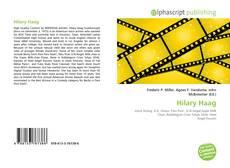 Обложка Hilary Haag
