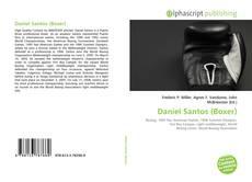 Bookcover of Daniel Santos (Boxer)