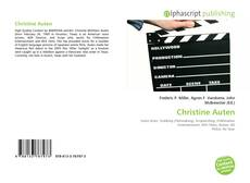 Copertina di Christine Auten
