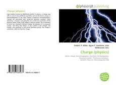 Bookcover of Charge (physics)