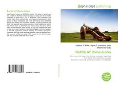 Capa do livro de Battle of Buna-Gona