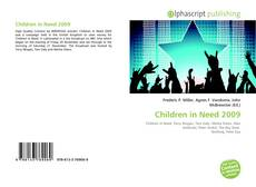 Buchcover von Children in Need 2009