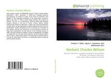 Bookcover of Herbert Charles Wilson