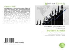 Statistics Canada的封面
