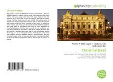 Copertina di Christine Daaé