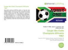 Coupe des Clubs Champions Africains 1987的封面