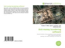 Bookcover of Anti-money laundering software