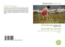 Bookcover of Fernando de Herrera