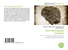 Bookcover of Hare Psychopathy Checklist