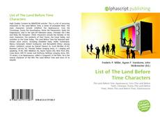 Bookcover of List of The Land Before Time Characters