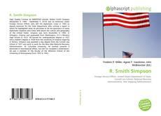 Copertina di R. Smith Simpson