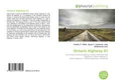 Borítókép a  Ontario Highway 61 - hoz