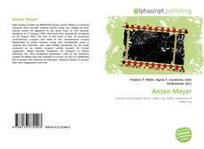 Capa do livro de Anton Meyer