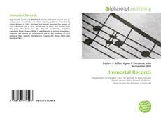 Buchcover von Immortal Records