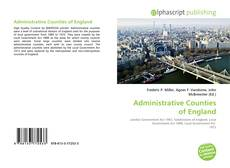 Administrative Counties of England kitap kapağı