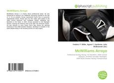 Bookcover of McWilliams Arroyo