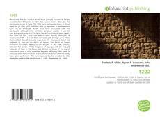 Buchcover von 1202