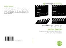 Bookcover of Amber Benson