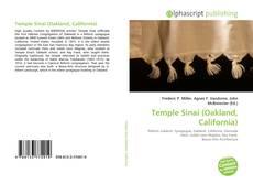 Bookcover of Temple Sinai (Oakland, California)