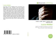 Bookcover of Lucius Walker