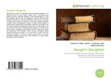 Capa do livro de Burger's Daughter
