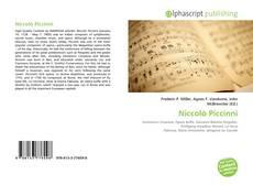 Copertina di Niccolò Piccinni