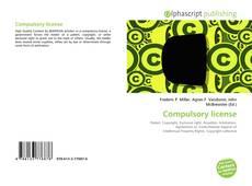 Bookcover of Compulsory license