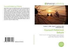 Bookcover of Foucault-Habermas Debate