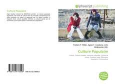 Copertina di Culture Populaire