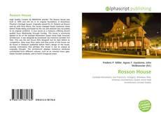 Rosson House kitap kapağı