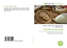 Bookcover of Horatio Greenough