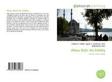 Abou Bakr As-Siddiq kitap kapağı