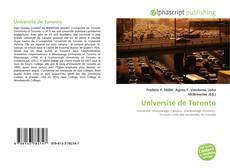 Université de Toronto kitap kapağı