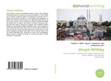 Portada del libro de Deryck Whibley