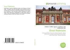Buchcover von Ernst Thälmann