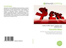 Bookcover of Kaushik Basu
