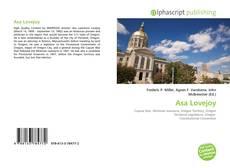 Asa Lovejoy的封面