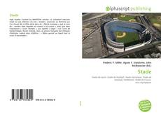 Bookcover of Stade