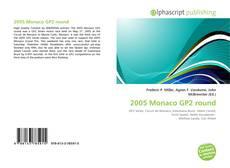 Bookcover of 2005 Monaco GP2 round