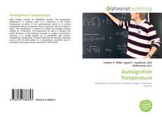 Bookcover of Autoignition Temperature