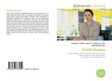Bookcover of Credit Bureau