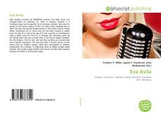 Capa do livro de Eva Avila