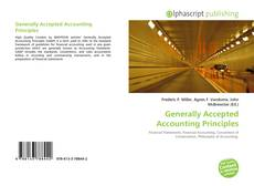 Generally Accepted Accounting Principles kitap kapağı
